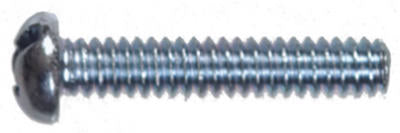 Hillman 90242 Slotted Round Head Machine Screw, 10-24 x 1""