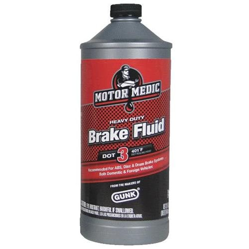 MotorMedic® M4432 Heavy Duty Brake Fluid, Dot-3, 1 Qt