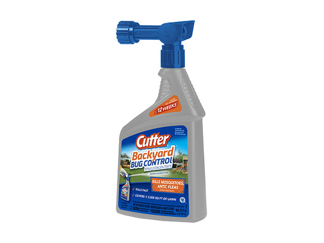Cutter® HG-61067 Bug Free Backyard Mosquito Repellent, 32 Oz