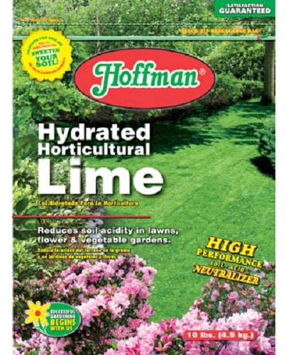 Hoffman® 15110 Hydrated Horticultural Lime, 10 Lb