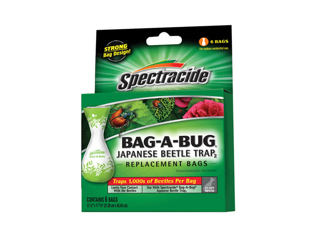 Spectracide® HG-56903 Bag-A-Bug Japanese Beetle Trap Replacement Bag, 6-Count