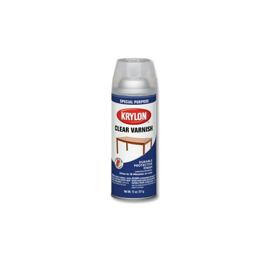 Krylon® 7002 Clear Varnish Coating, 11 Oz, Satin Varnish