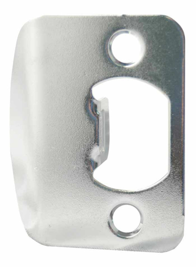 Kwikset® 3437-26-STRK-F/LIP Standard Strike Plate, Satin Chrome