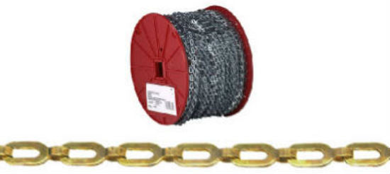 Campbell® 0723817 Plumber's Safety Chain, Bright Finish, 200'