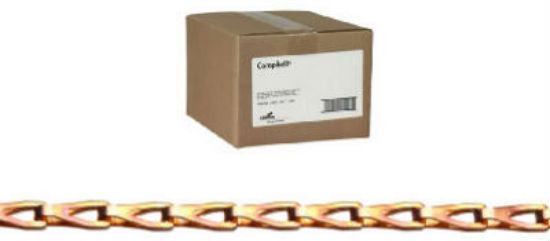 Campbell® 0880844 Sash Chain, Copper Plated, 100'