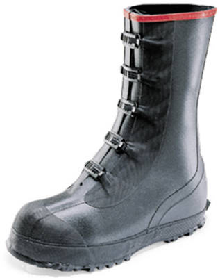 Tingley MR270A-12 Rubber Overboot Black Size 12
