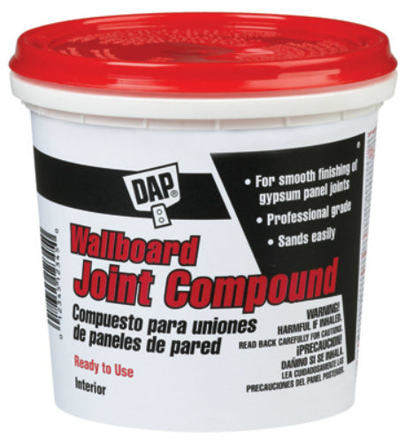 Dap® 10102 Ready-To-Use Wallboard Joint Compound, 12 Lbs