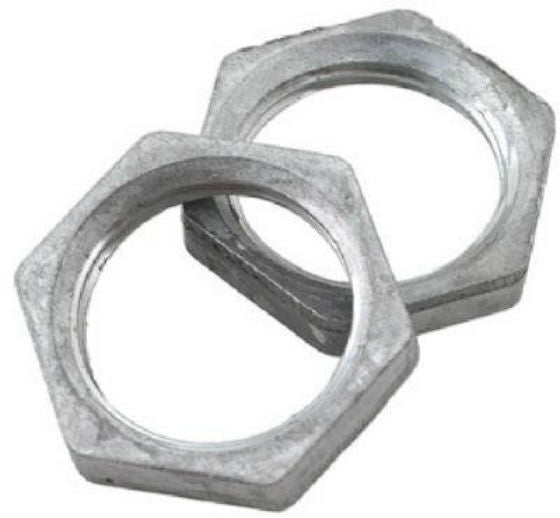 "BrassCraft SF0457 Steel Faucet Mounting Nuts, 1/2"", 2 Pack"
