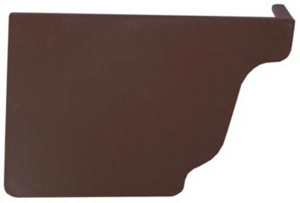 Genova AB102K Repla-K Left Hand End Cap, Brown