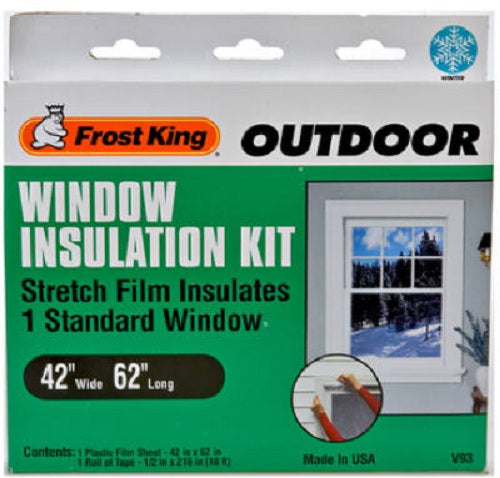 "Frost King V93H Outdoor Window Insulation Kit, 42"" x 62'"