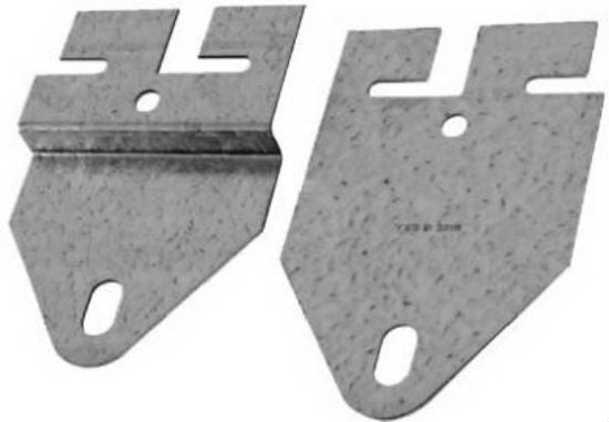 "National Hardware® N280-511 Tandem Bracket Set, 5-5/16"", Galvanized"