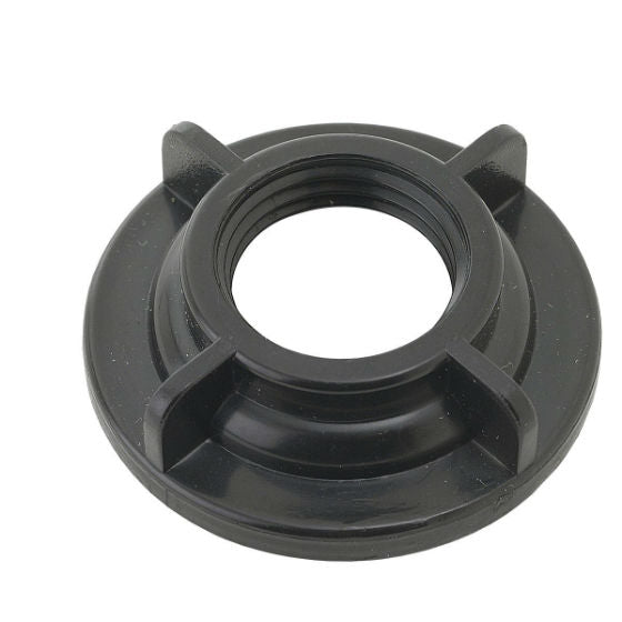 "BrassCraft SF0456 Plastic Faucet Nut, 1/2"", Black, 2 Pack"