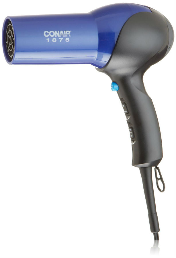 Conair® 146NP Ionic Conditioning Full Size Hair Dryer, 1875W, Blue