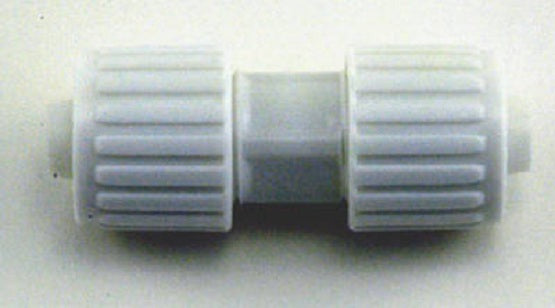 "Flair-It™ 16853 Plastic Coupling for PEX or Polybutylene, 3/8"" x 1/2"""