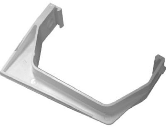 Genova RW106H Heavy Load Gutter Bracket, White