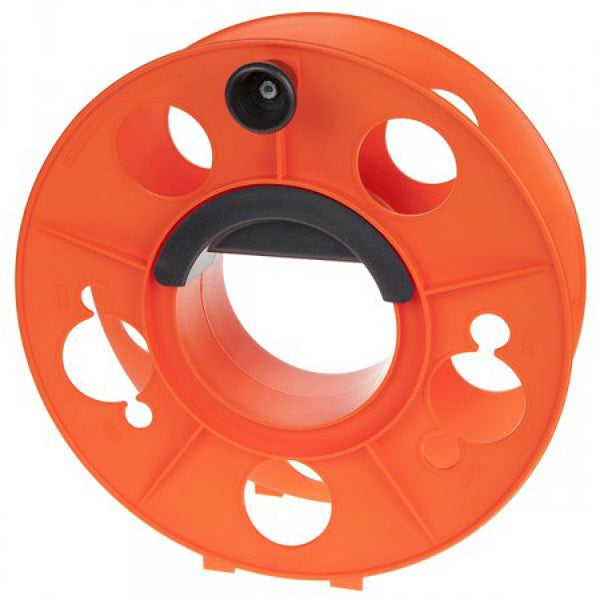 Bayco® KW-130 Heavy Duty Cord Storage Reel w/Center Spin Handle, Orange