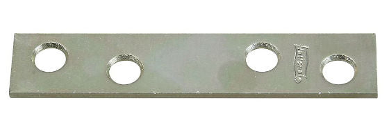 "National Hardware® N114-355 Mending Plates, 3"" x 5/8"", Zinc, 4-Pack"