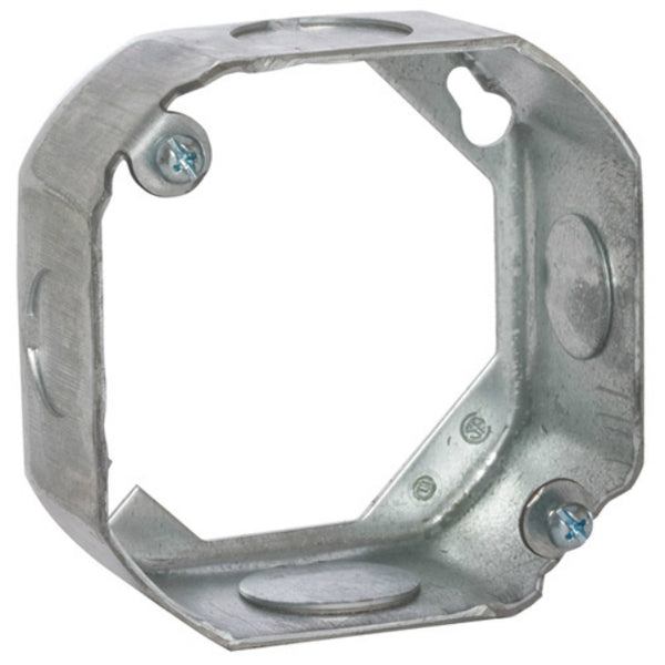"RACO® 130 Steel Octagon Extension Ring, 4"" x 1-1/2"" Deep"