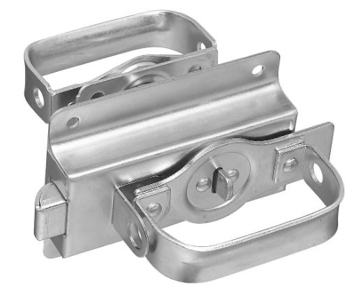 National Hardware® N101-600 Heavy-Duty Swinging Door Latch, Zinc Plated
