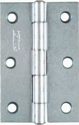 "National Hardware® N146-373 Non-Removable Pin Hinge, 3""x2"", Zinc, 2-Pack"