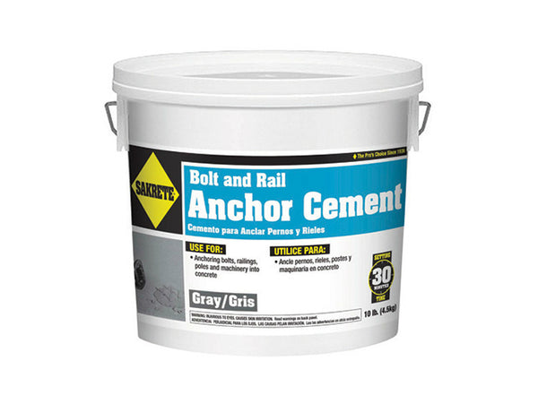 Sakrete® 60205003 Bolt & Rail Anchor Cement, 10 Lb