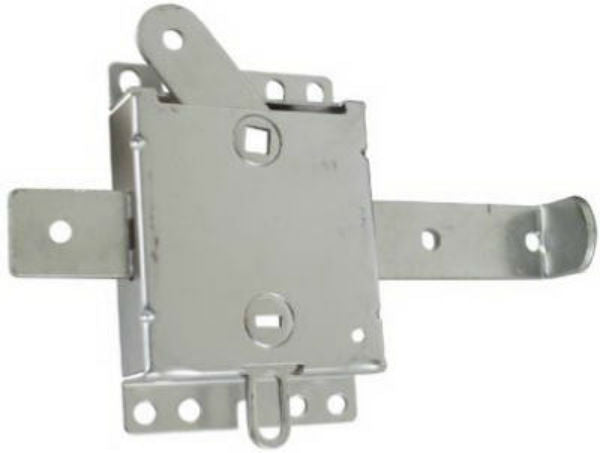 "National Hardware® N280-743 Interior Garage Door Side Lock, 7-1/2"", Zinc"