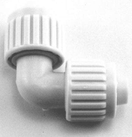 "Flair-It™ 16800 Plastic Elbow for PEX or Polybutylene, 1/2"" x 1/2"""