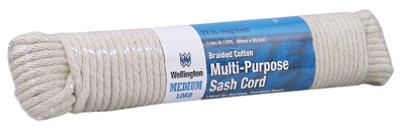 "Wellington 10226 Southgate Multi Purpose Sash Cord, 1/4"" x 100'"