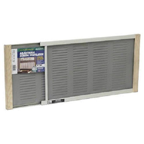 "Frost King AWS1207 Louver Metal Rail Extension Window Screen, 10"" x 21"" - 37"""