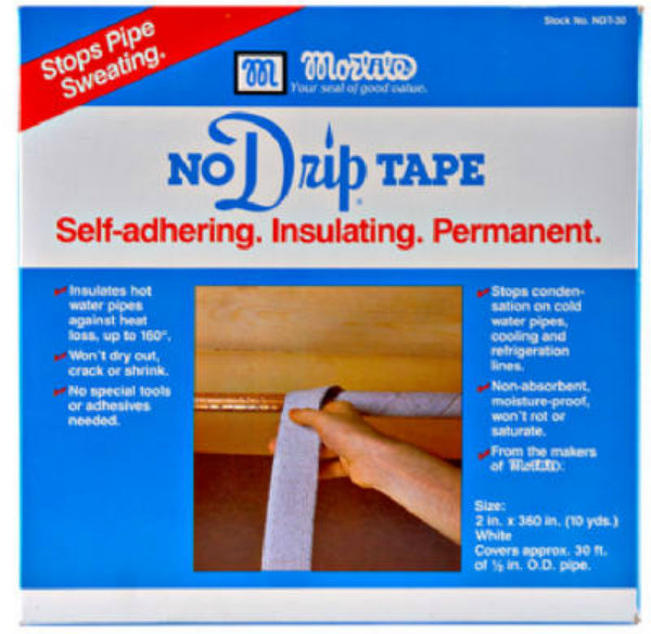 "Mortite® NDT30 No Drip Self-Adhesive Pipe, 2"" x 30'"