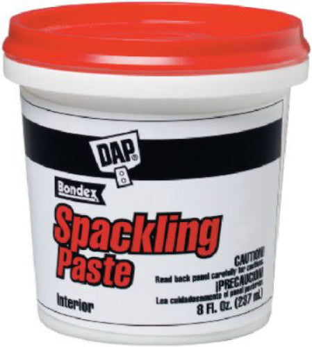 Dap® 10200 Ready-To-Use Pre-Mixed Spackling Paste, 1/2 Pt