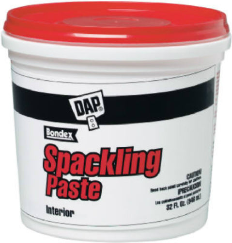 Dap® 10204 Ready-To-Use Pre-Mixed Spackling Paste, Quart