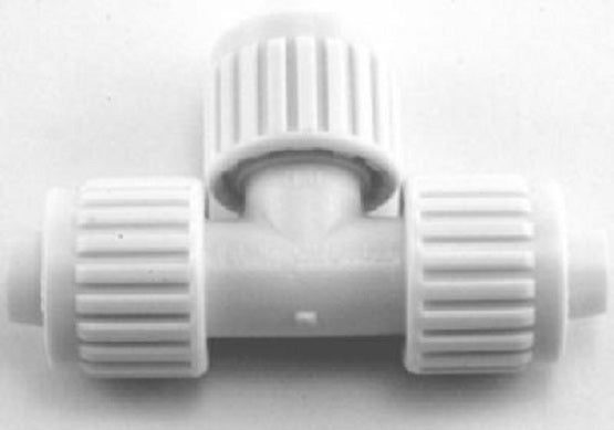 "Flair-It™ 16820 Tee for PEX Or Polybutylene, 1/2"" x 1/2"" x 1/2"""