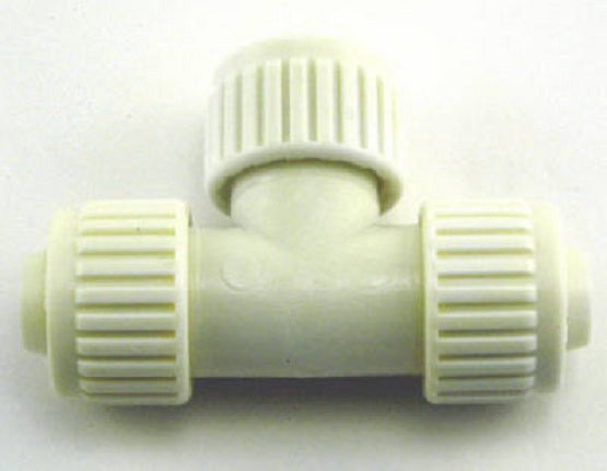 "Flair-It™ 16824 Tee for PEX or Polybutylene, 3/4"" x 1/2"" x 1/2"""