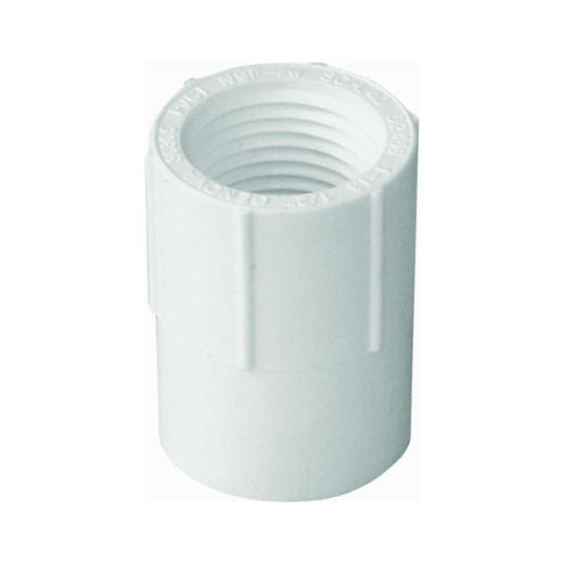 "Genova 30310 Female Adapter, Slip x Thread, 1"", White"
