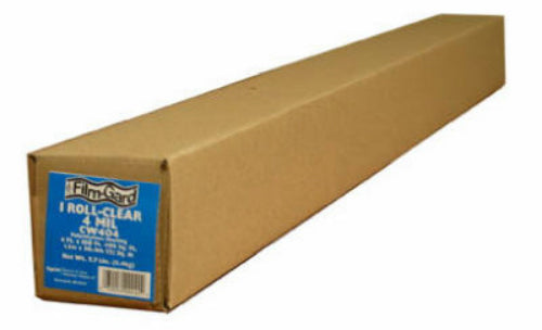 Film-Gard® 625949 Polyethylene Construction Sheeting, #B0420, 20' x 100', Black