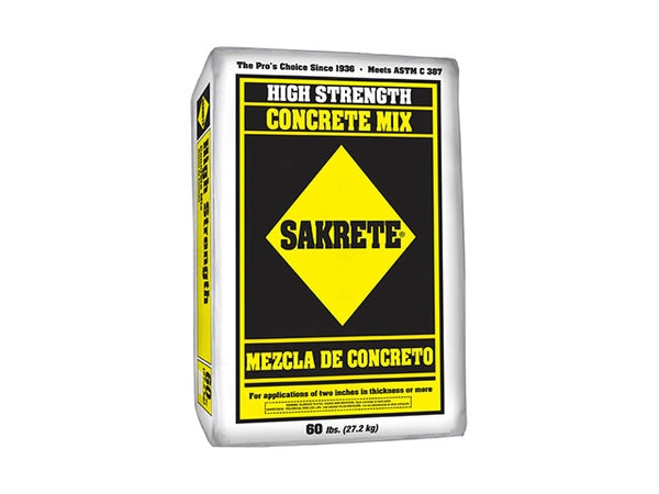 Sakrete® 65200940 High Strength Concrete Mix, 60 Lb