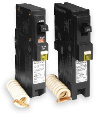 Single Pole Combo Arc Fault Circuit Breaker 20 Amp