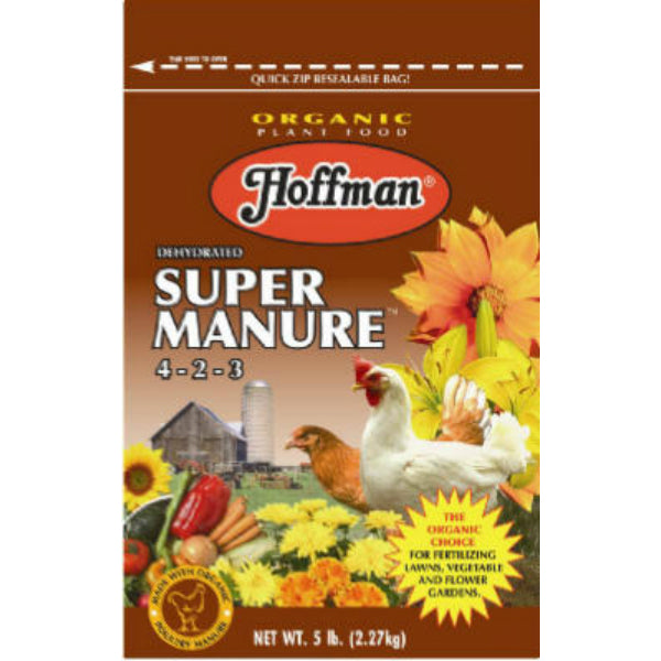 Hoffman® 20505 Dehydrated Super Manure, 4-2-2, 5 Lb