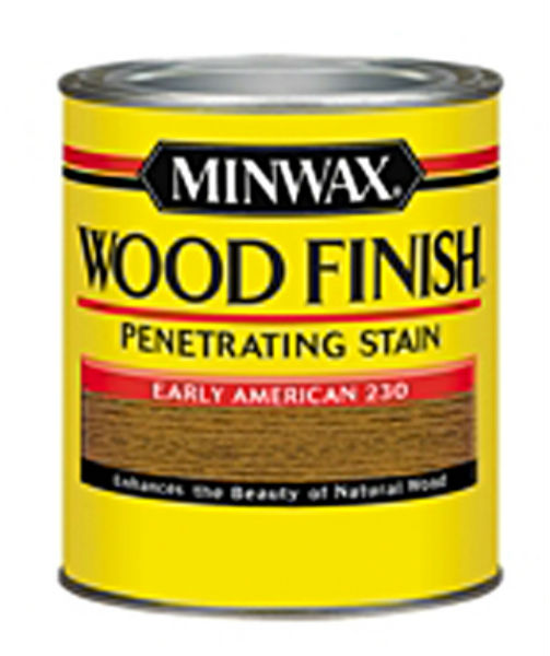 Minwax® 223004444 Wood Finish™ Penetrating Wood Stain, Early American (230), 1/2 Pt