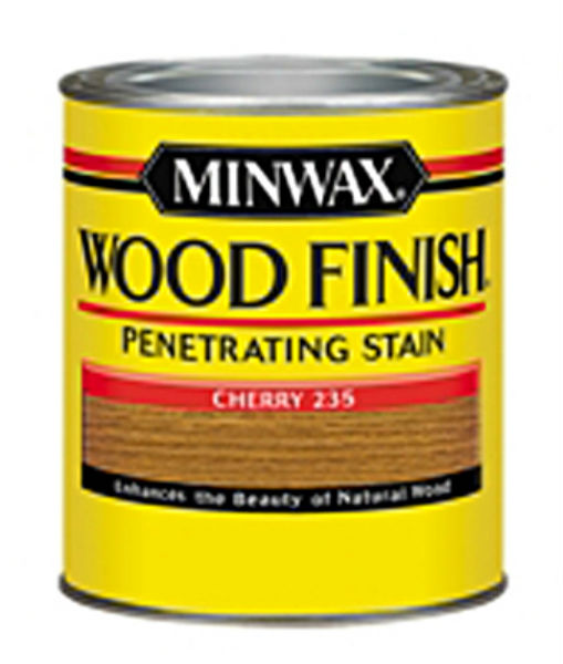 Minwax® 223504444 Wood Finish™ Penetrating Wood Stain, Cherry (235), 1/2 Pt