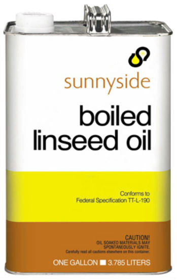 Sunnyside 872G1 Boiled Linseed Oil In Metal Can, 1 Gallon