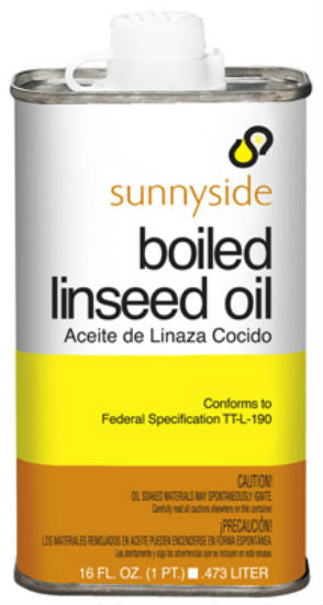 Sunnyside 87216 Boiled Linseed Oil In Metal Can, 1 Pint