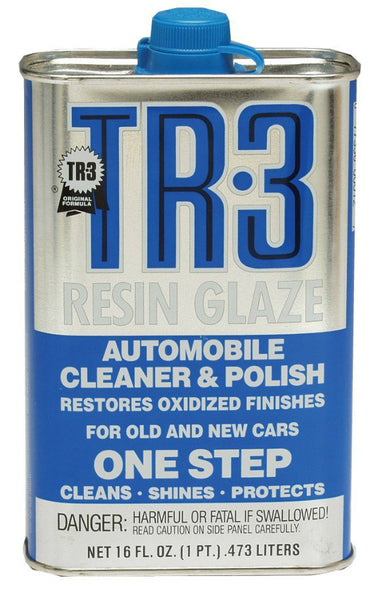 Blue Magic® 12A-6 Resin Glaze One-Step Automobile Cleaner & Polish, TR-3, 16 Oz