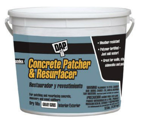 Dap® 10468 Concrete Patcher & Resurfacer, 10 Lbs, Gray