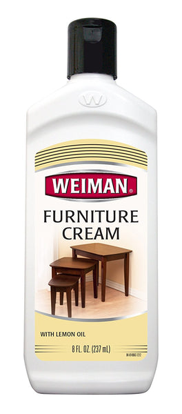 Weiman® 04 Furniture Cream with Lemon Oil & Sunscreen UVX-15, 8 Oz
