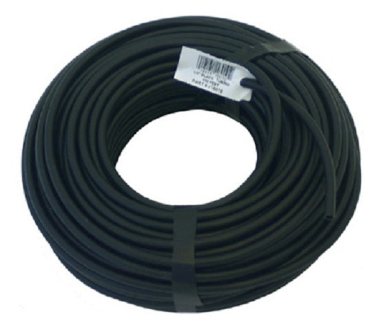 "Raindrip 016005P Black Poly Tubing, 1/4"" x 50'"