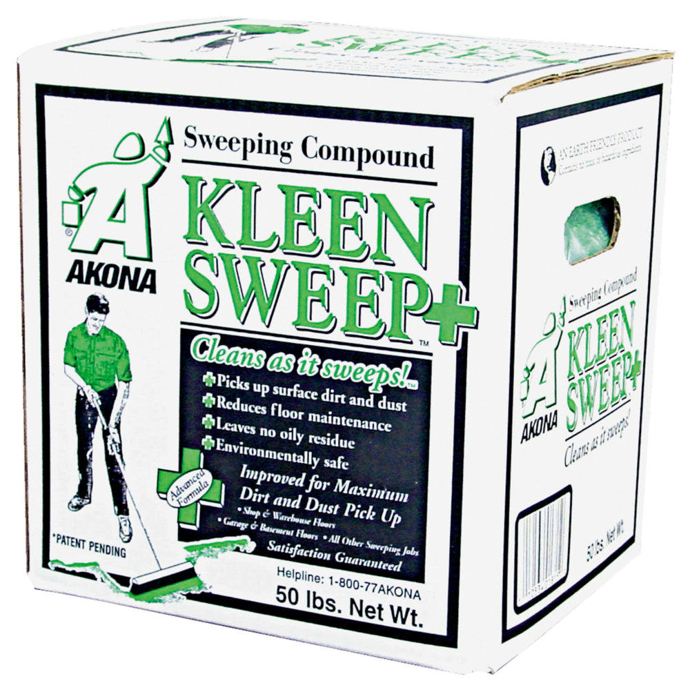 Kleen Products 1815 Kleen Sweep Plus Sweeping Compound, 50 lb