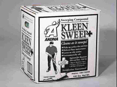 Kleen Products 1816 Kleen Sweep Plus Sweeping Compound, 100 lb