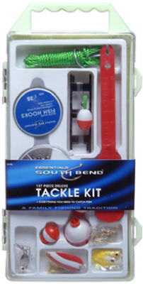 South Bend® KIT-90 Deluxe Tackle Kit, 137 Piece